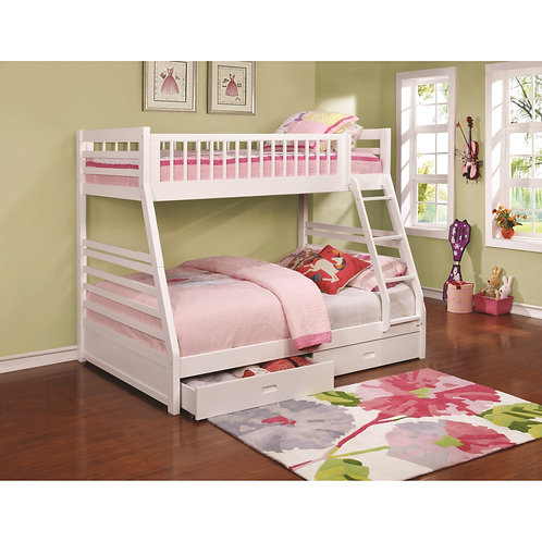460180 Twin / Full Bunk Bed