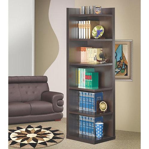800270 Corner Bookcase