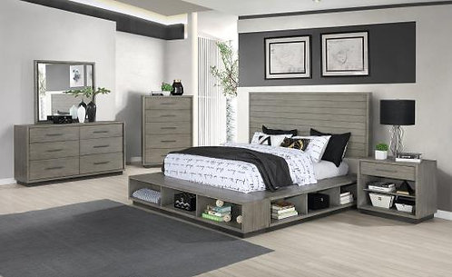 2232014 Low Profile Bed w/ Storage