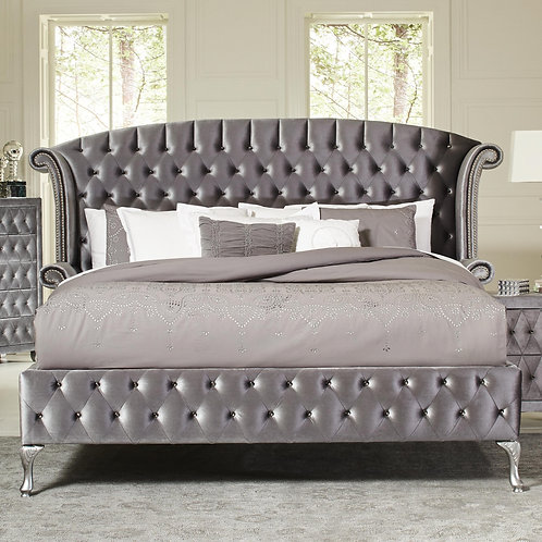 205101 Upholstered Bed