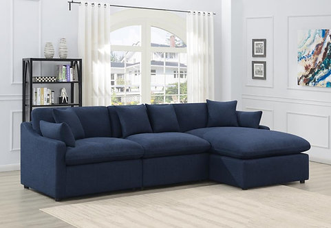 651551P 3pc Power Sectional