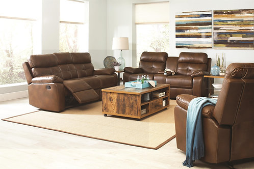 601691 2pc Sofa & Loveseat Recliners