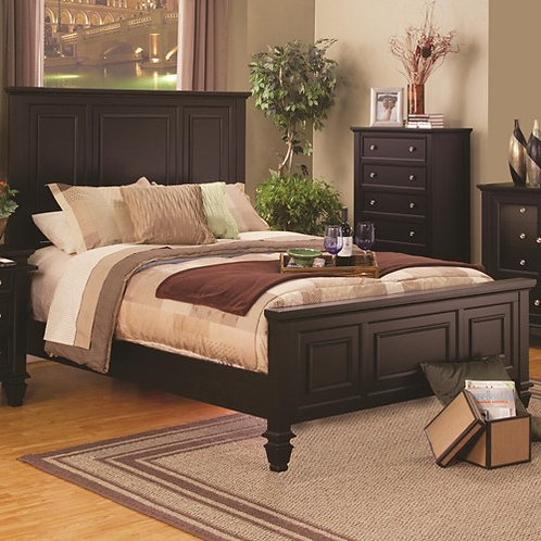 201991  Sleigh Bed