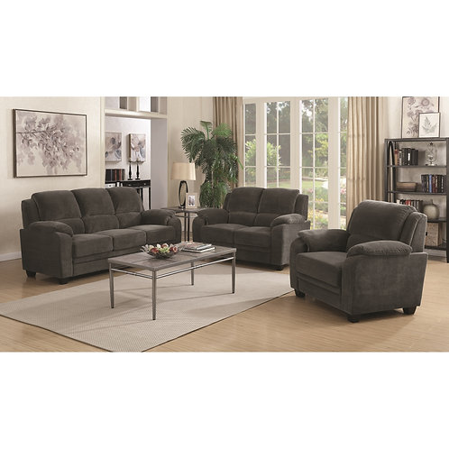506241 2pc Sofa & Loveseat