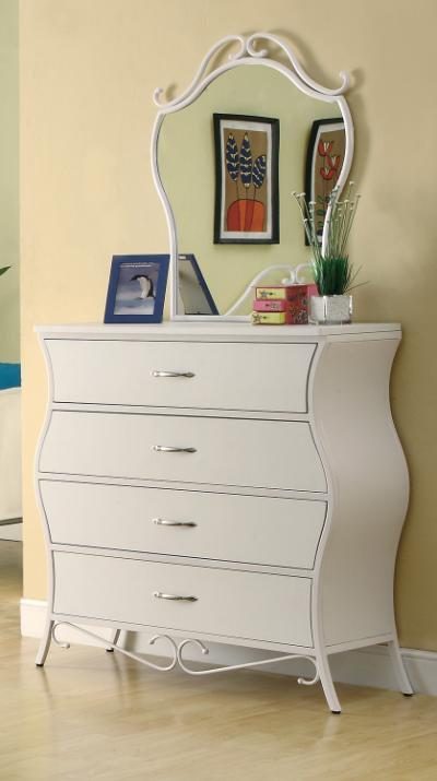 400523 Bella 4 Drawer Dresser