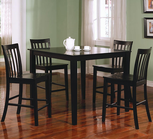 150231BLK Counter Height Dining Set