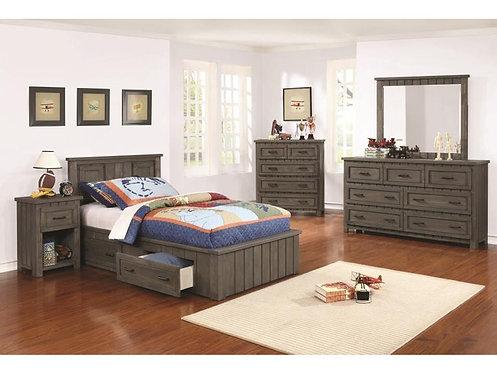 400931 Storage Bed