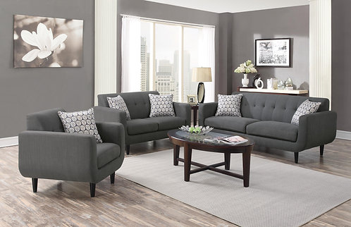 505201  2pc Sofa & Loveseat