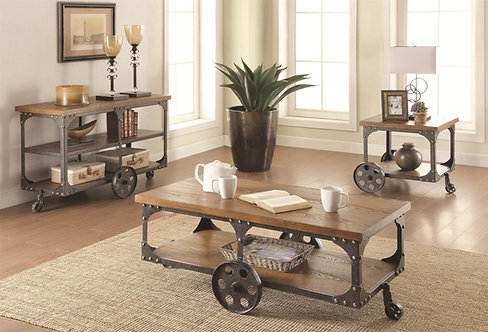 701128  Wagon Coffee Table