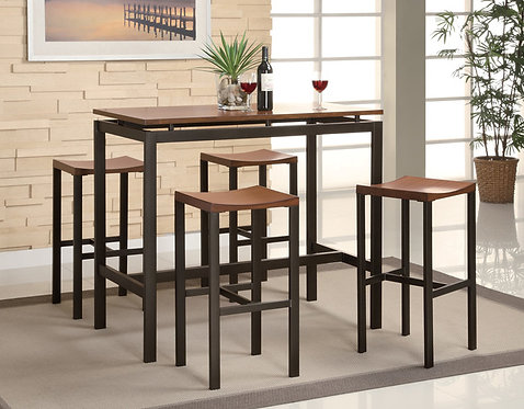 150097 5pc Counter Height Dining Set