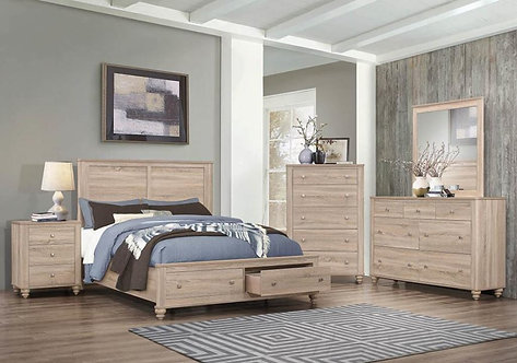 205460 4pc Storage Bedroom Set