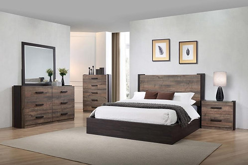 206311 Low profile bed