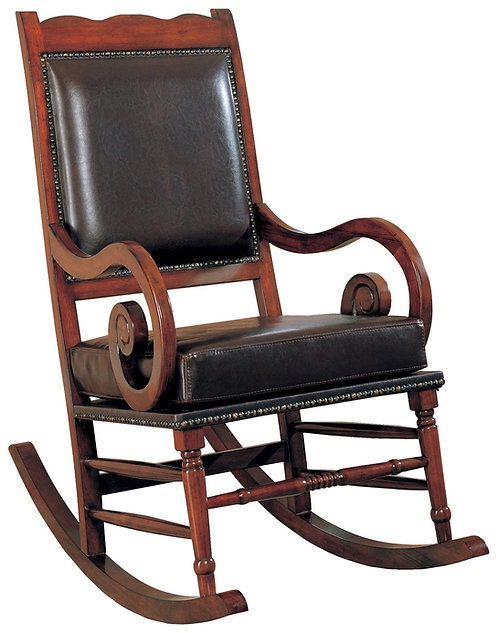 600058 Traditional Wooden Rocking chair