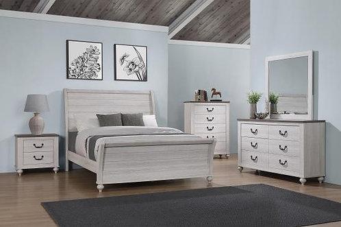 223281 Antique Bed