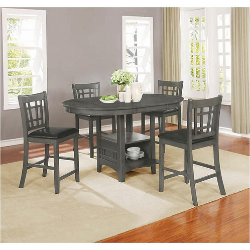108218 5pc Counter Height Dining Set