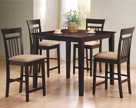 150041 5pc Counter Height Dining Set