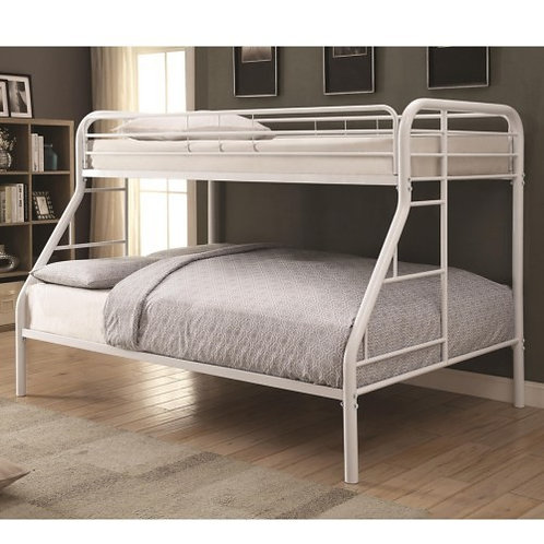 460378w Twin & Full sz Bunkbed