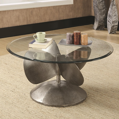 704558 Industrial Coffee Table