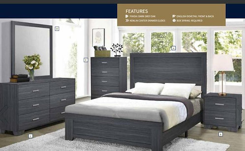 223151 Wooden Bed