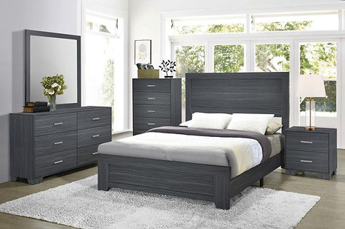 223151 Twin Wooden Bed