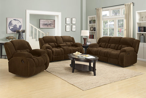 601924 2pc Sofa & Loveseat Recliners