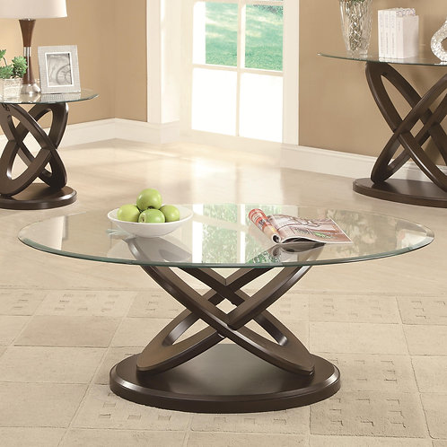 702787 Intersecting Ring Coffee Table