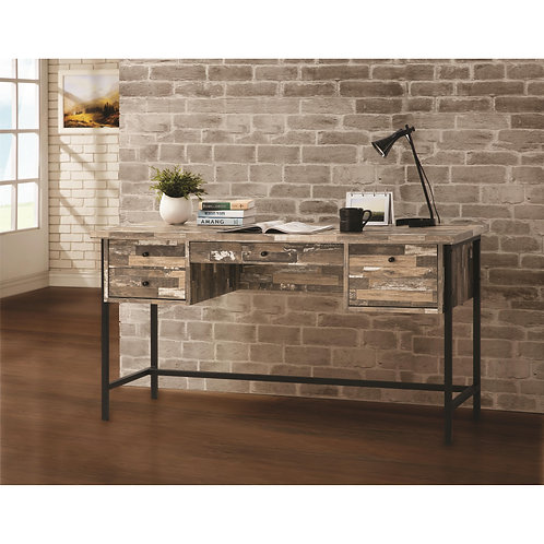 801235 Rustic Style Writing Desk