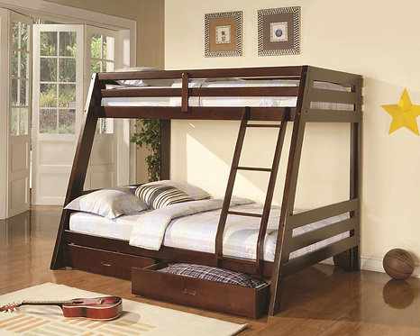 460228 Twin / Full Bunk Bed