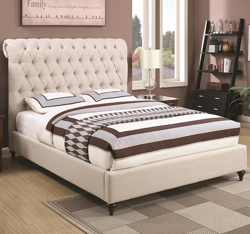 300525 Upholstered Bed