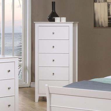 400235 Selena 5 Drawer Chest