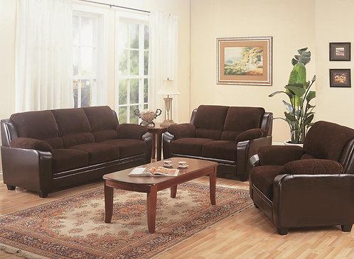 502811 2pc Sofa & Loveseat