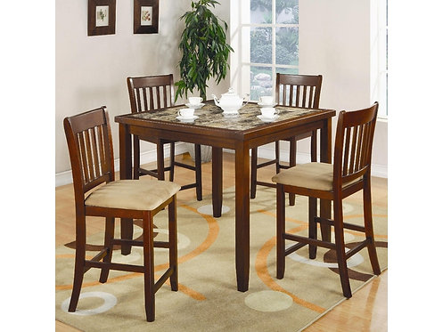 150154  5pc Counter Height Dining Set