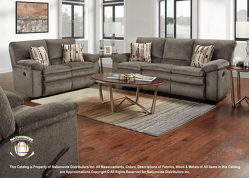 U103 2pc Sofa & Loveseat Recliners