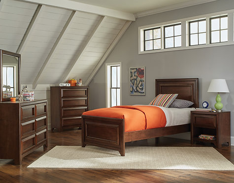 400821 Panel Bed