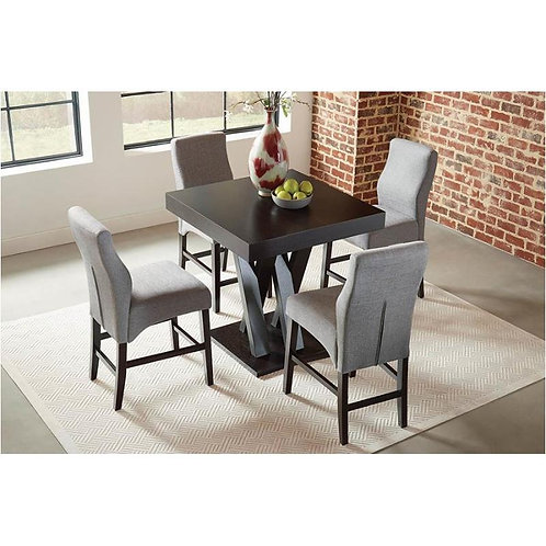 100523 5pc Counter Height Dining Set