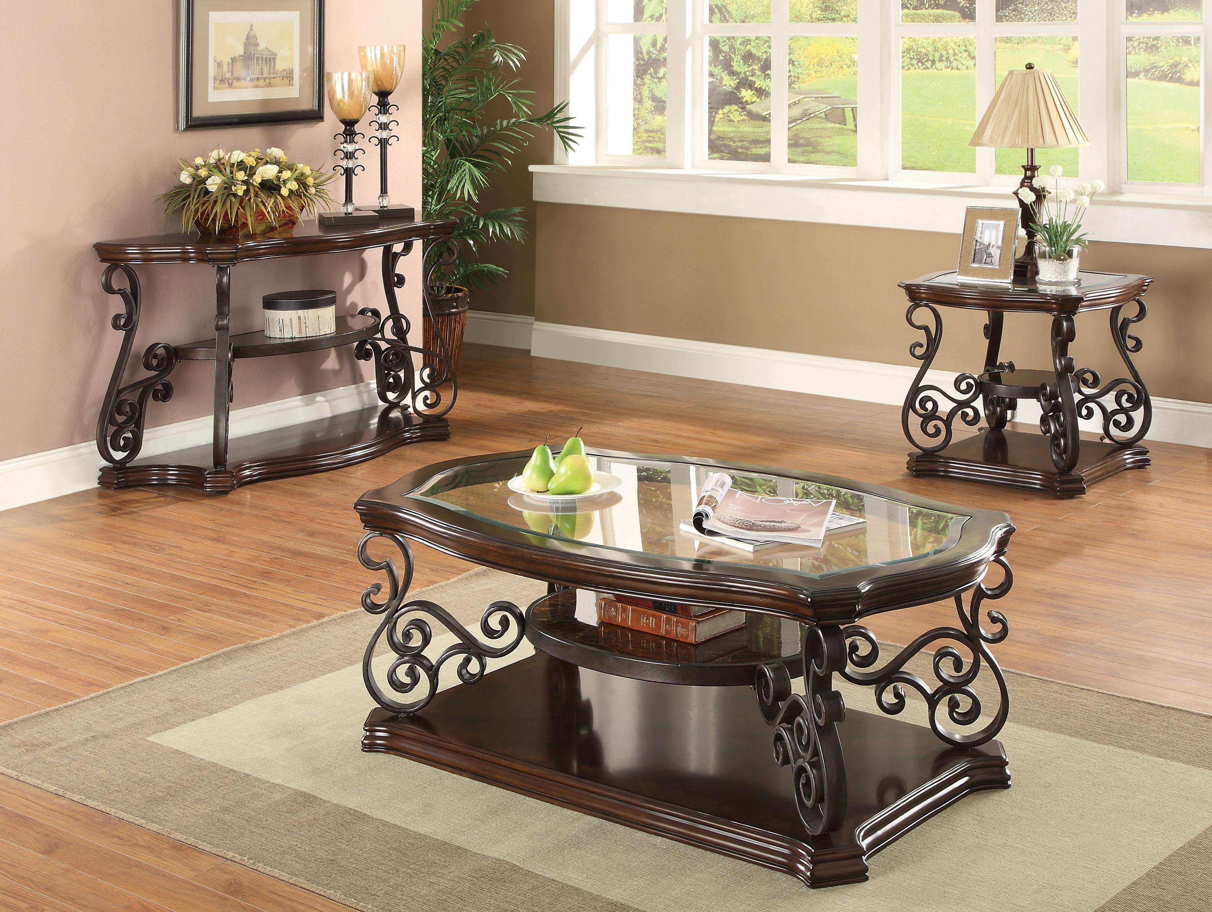 702448 Traditional Coffee Table Micasafuniture
