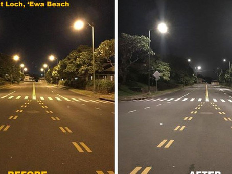 53,000 streetlights on Oahu converted to bright, energy-efficient LEDs