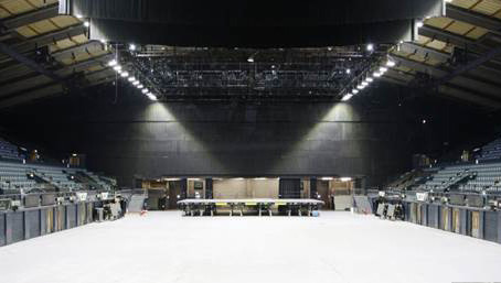 Wembley Arena LEDs need just 5% power as halogen