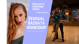 Sensual bachata with chelsea at The Sals