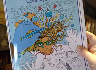 New Quarantine Coloring Book Available!