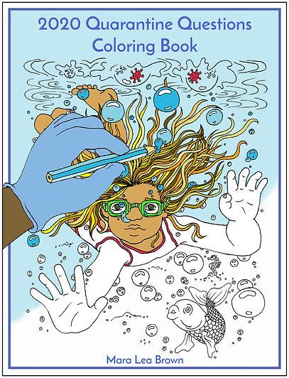 2 - Quarantine Questions Coloring Book -