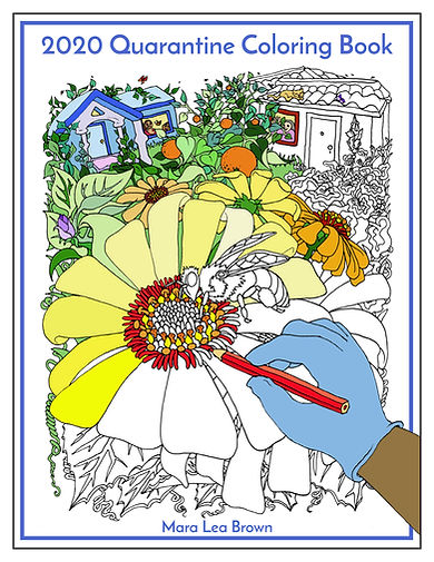 22Quarantine Coloring Book - Complete Ve