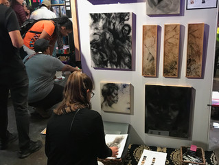 2018 Pancakes and Booze Art Show