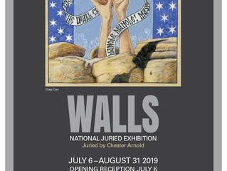 Opening Reception on July 6th - Walls