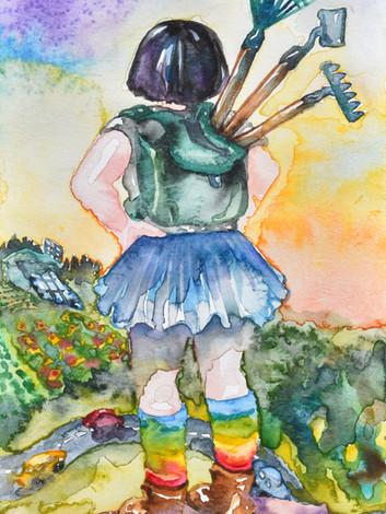 III de Bastos - watercolor
