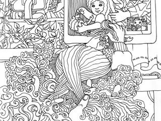 Quarantine Coloring Book - Page #2