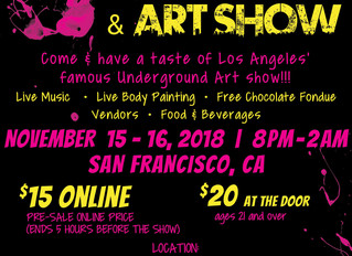 Chocolate & Art Show on November 15-16!