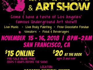 Chocolate & Art Show on November 15-16!
