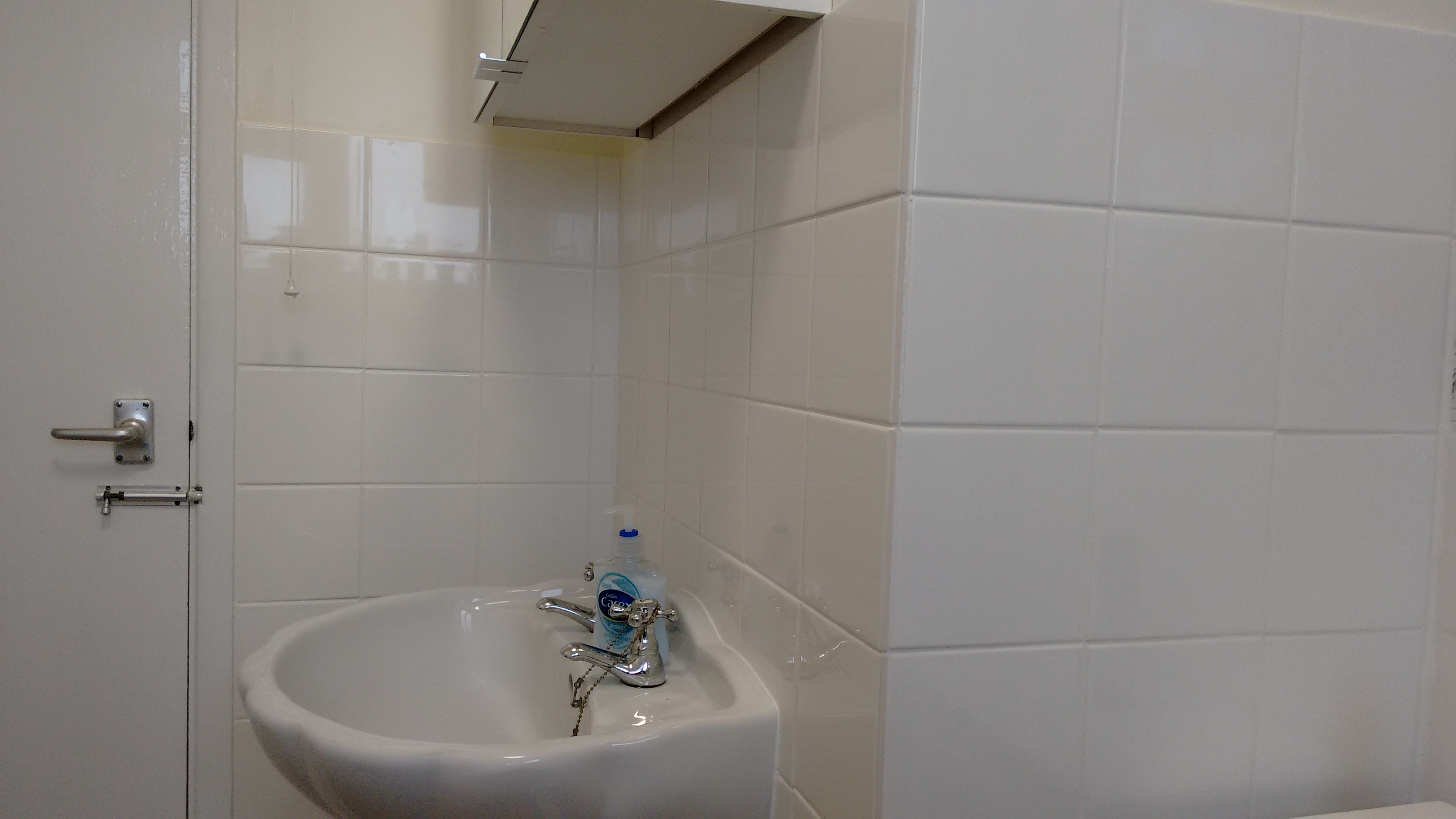 New tiles, grout and seals