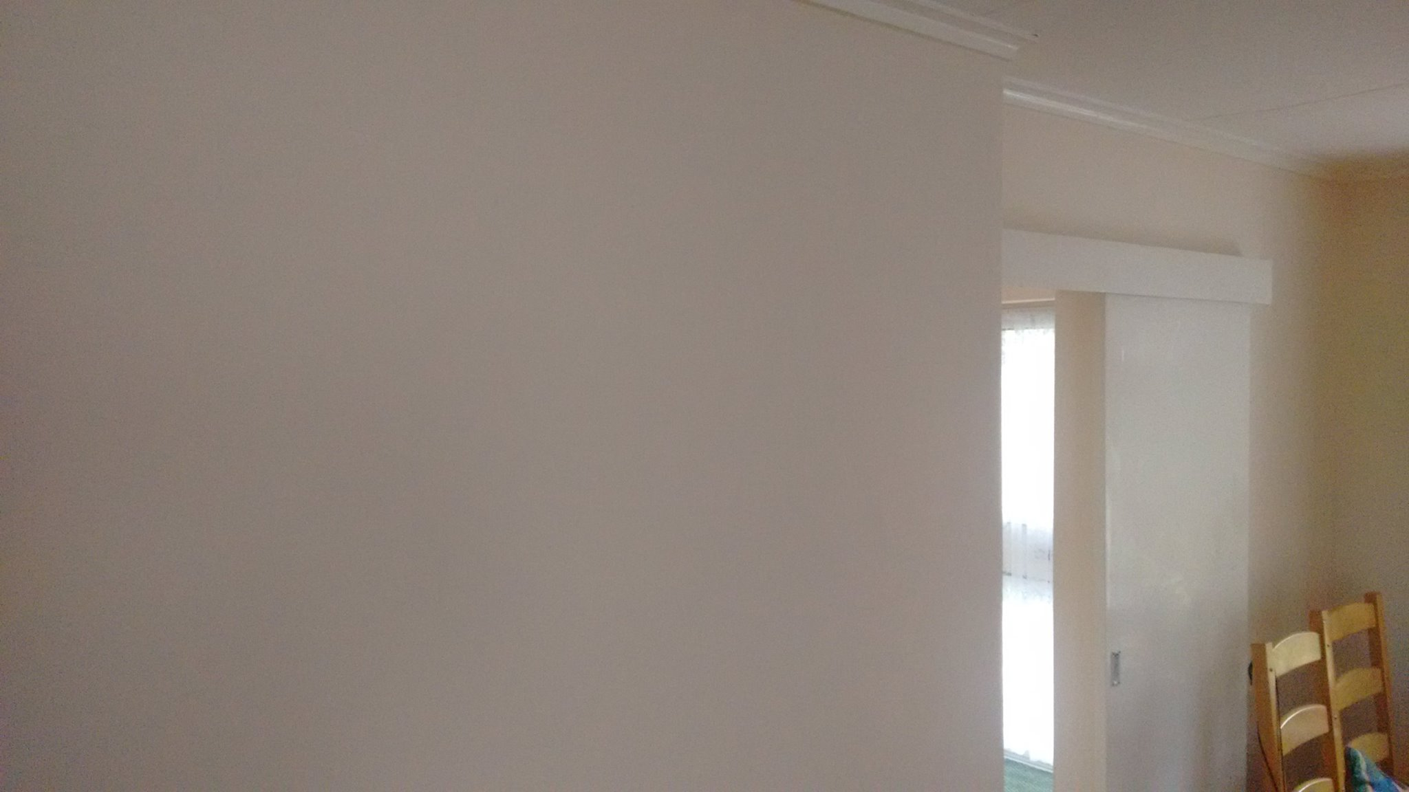 Remedial work done and walls painted